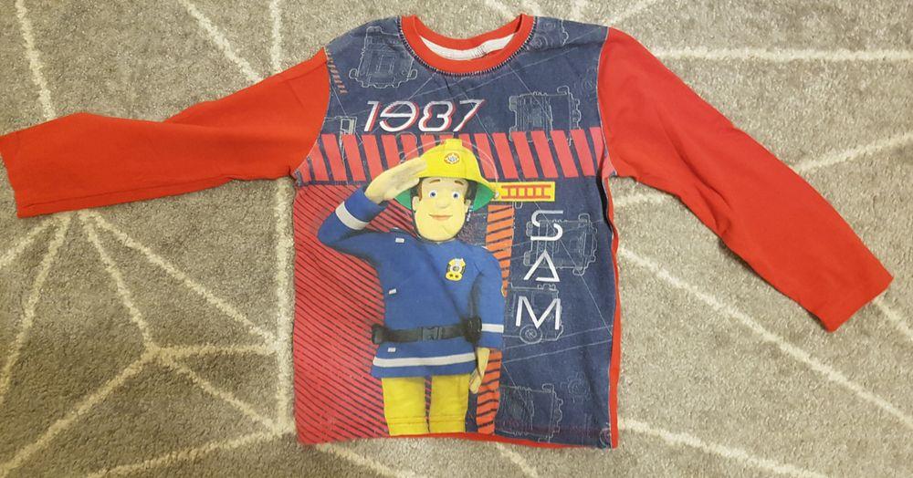 Koszulka chłopięca rozmiar 128 Strażak Sam Warszawa - image 1