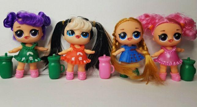 Лол з волосами нові з волоссям кукла  лол lol