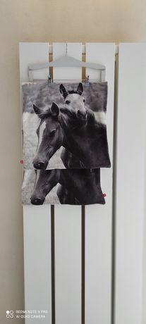 Rezerwacja do 28 kwietnia poszewki na poduszki home & you konie 2 szt.