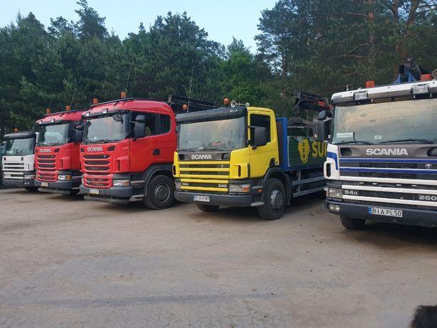 Usługi transportowe HDS. Przewóz materiałów budowlanych kontenerów itp