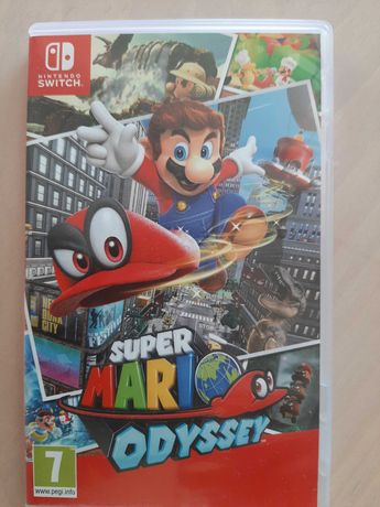 "GRA ""Super Mario ODYSSEY"" Nintendo Switch"