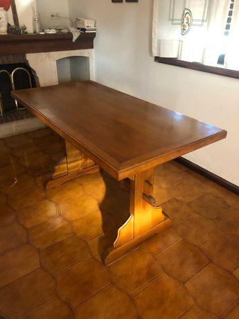 Mesa de Jantar (madeira de carvalho)
