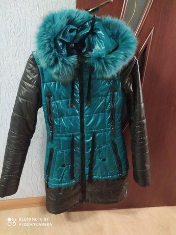 Зимняя куртка состояние нового
