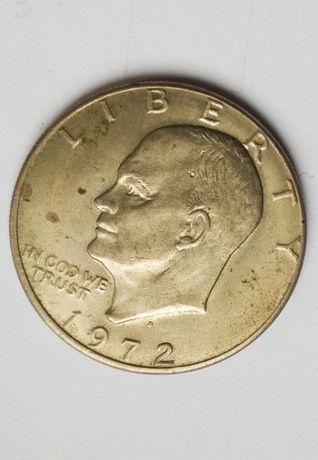 Moneta - Jeden dolar USA 1972, Eisenhower.