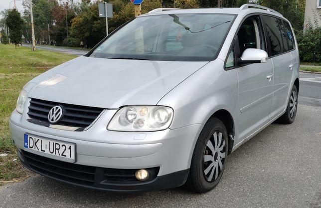 VW Touran 2.0 TDI 7 Osobowe XENON Przebieg 250 tys Zarejestrowany