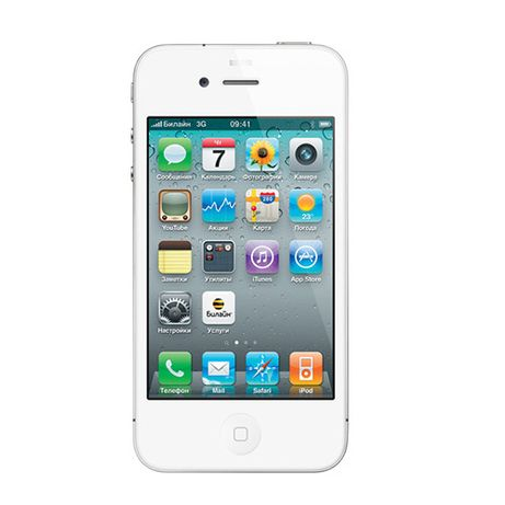 iPhone 4 CDMA 8 ГБ белый