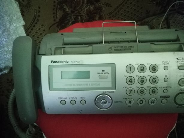 telefon z faxem panasonic
