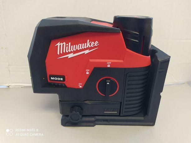 Laser krzyżowy Milwaukee M12 CLLP