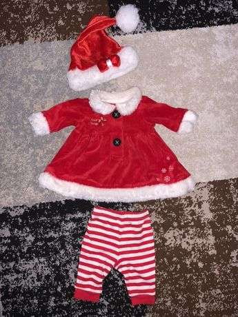новогодний костюм для девочки 3-6мес
