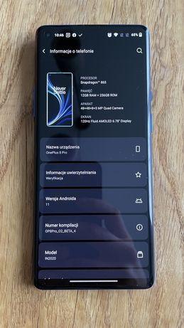 Oneplus 8 Pro Ultramarine blue 12/256 bez obciazen 5G