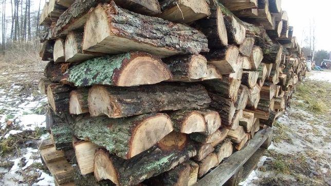 drewno kominkowe dębina