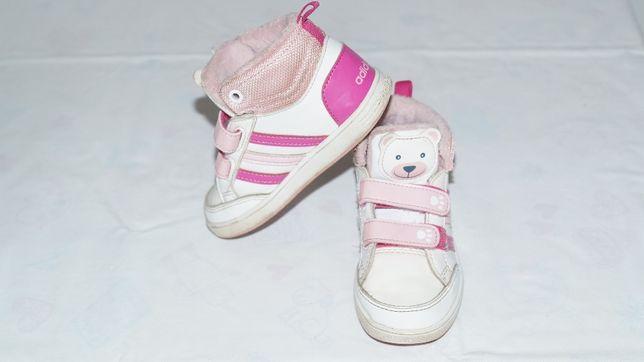 Adidas buty sportowe ocieplane dziewczęce rozmiar 25
