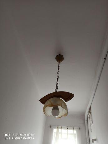 Lampa sufitowa, jednopłomienna