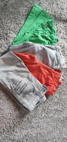 Spodnie Benneton, H&M, Reserved, Zara 116, 128,122