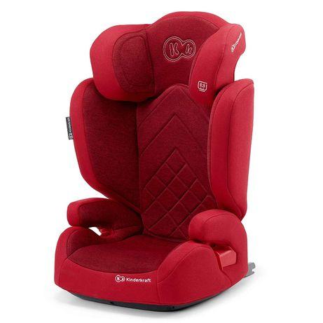 Kinderkraft fotelik samochodowy 15-36kg Isofix czerwony