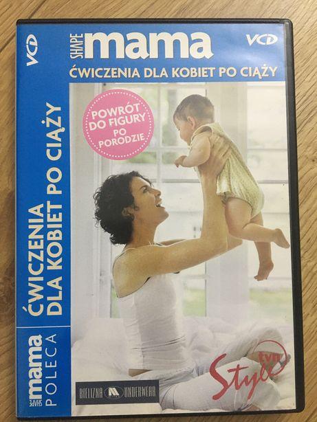 Płyta DVD ćwiczenia dla kobiet po ciąży