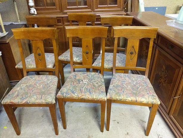 Krzesła komplet 6szt