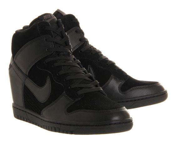 Замшевые сникерсы/кроссовки/ботильоны ботинки/Nike Dunk Sky /р.40 26см