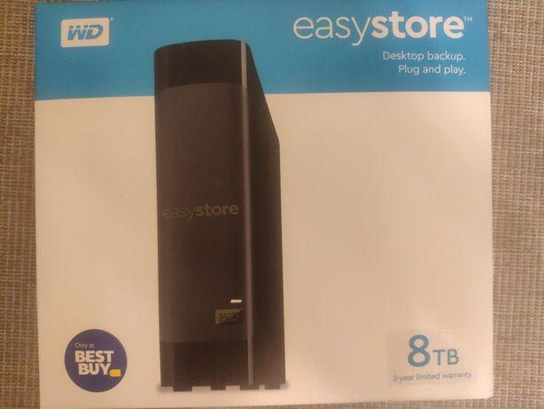 WD easy store 8 TB новый