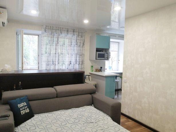 Продам большую 2-комнатную квартиру с ремонтом, мебелью и техникой