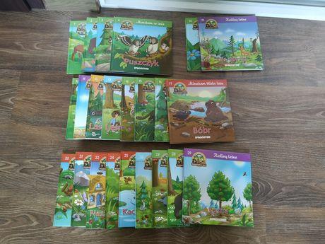 Kolekcja DeAgostini przyjaciele z lasu książeczki