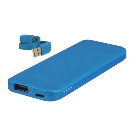 Powerbank WHITENERGY Polymer Battery 3000mAh Niebieski nowy