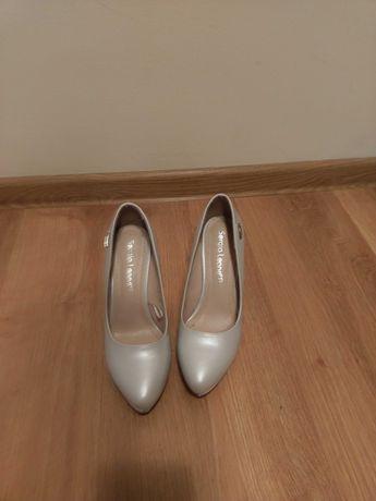 Buty ślubne perłowe SergioLeone rozmiar 37