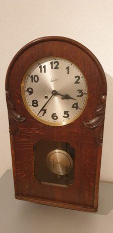 Stary Scienny Wiszacy Zegar Suevia Antyk Okazja