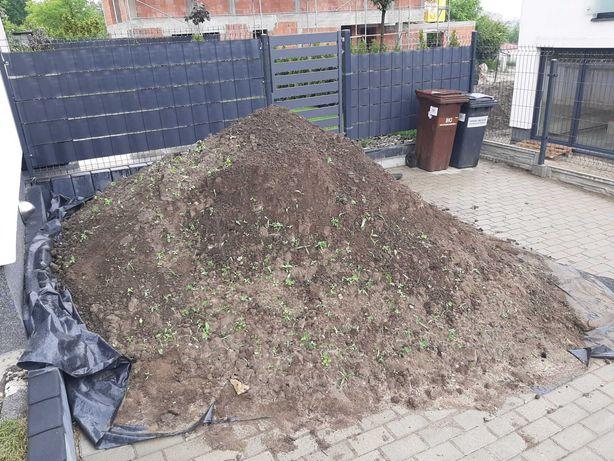 Ziemia ogrodowa, humus pod trawnik, do wyrównania terenu