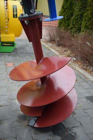 Wiertło spirala do świdra wiertnicy glebowej 50cm średnica 500mm