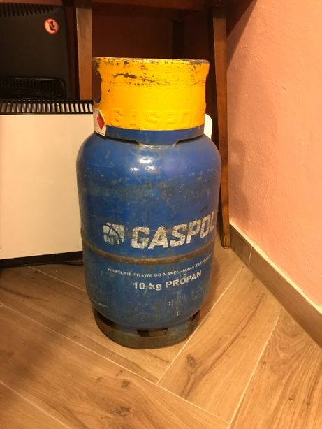 Butla gazowa 11 kg napełniona 100% propan pełna