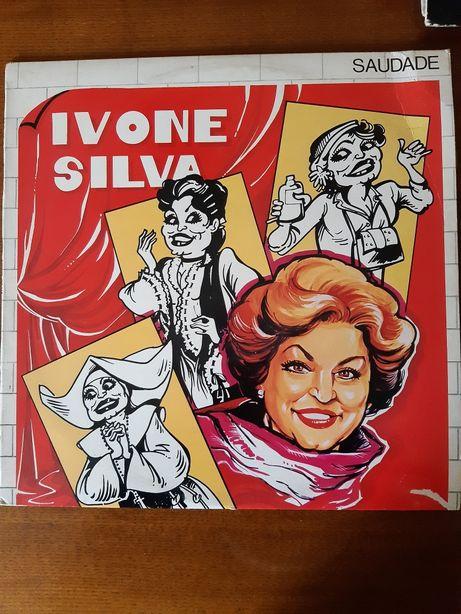 """Disco de vinil """"Saudade"""" Ivone Silva"""
