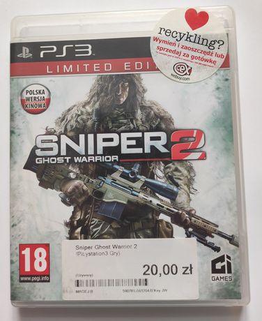 Sniper Ghost Warrior 2 gra ps3 po polsku