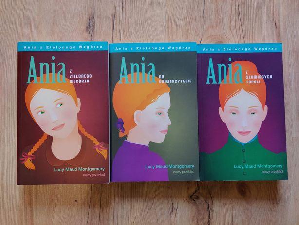 Ania z Zielonego Wzgórza - zestaw Lucy Maud Montgomery