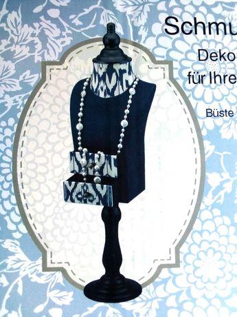 Stojak Manekin na biżuterię 58 cm.