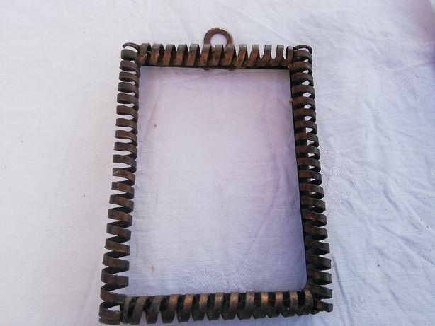 Bardzo starą ramka metalowa