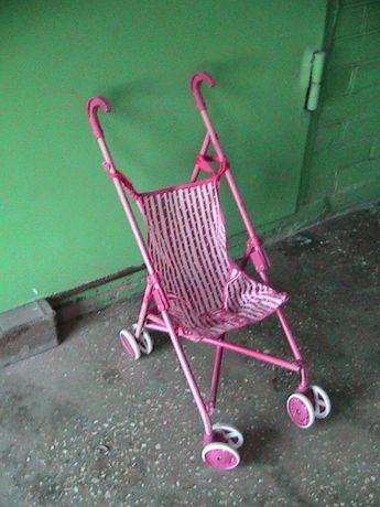 Детская коляска для куклы. Украина. Киев. Вишнёвое.