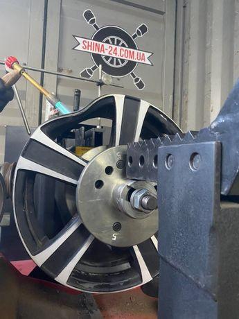 Аргон, прокатка, рихтовка, правка, сварка, ремонт дисков литые диски