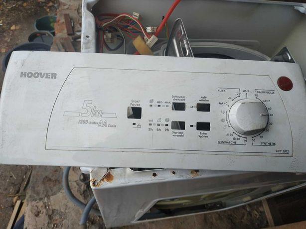 Стиральная машина на запчасти. HOOVER HFT 5012