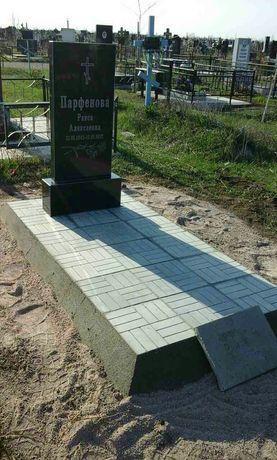 Гранитный памятник с установкой -7000 грн.