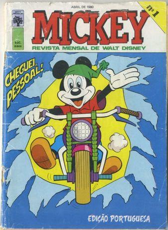 Mickey - do 1 ao 36, anos 80 (34 numeros)