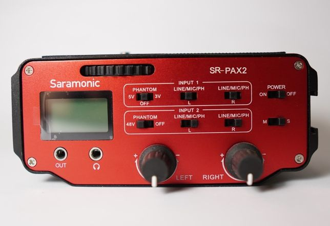 Adapter audio SARAMONIC SR-PAX2