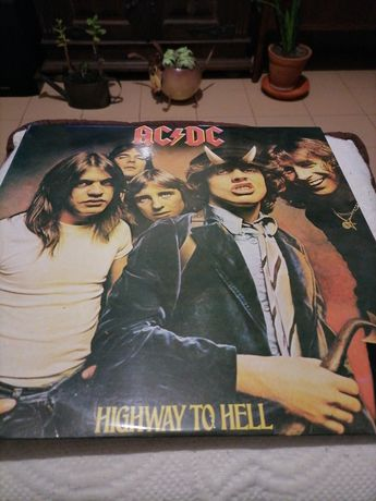 AC/DC Highway to hell vinil Lp rarissimo!