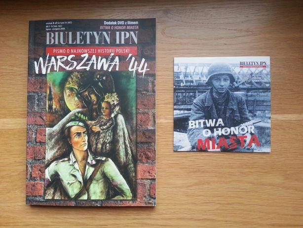 Biuletyn IPN 7-8/2019 + film DVD Bitwa o honor miasta