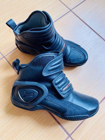 Мотоботы байкерам ботинки городские Puma Flat