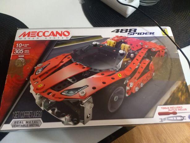 Meccano Ferrari 488 spider.