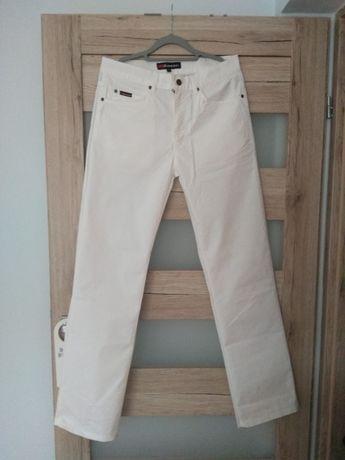Spodnie białe,  damskie