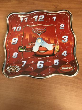 Zegar Cars, puzzle