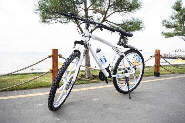 """Бoнус! Пoдapки! Супер крутой велосипед! БМВ на литых диcках 26""""17'"""