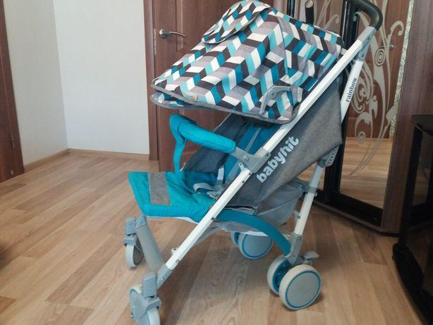 Коляска-трость BabyHit RAINBOW D200 Blue Diamond